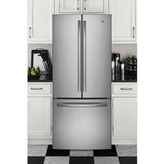GE Series Energy Star 20.8 Cubic foot French Door Refrigerator