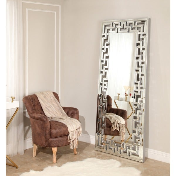 Shop Abbyson Tory Leaner Floor Mirror