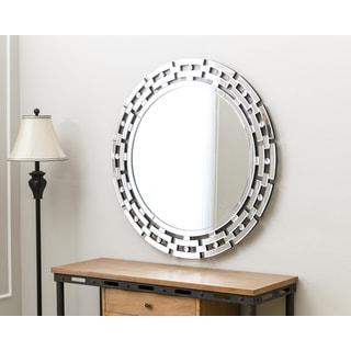 Abbyson Living Tiffany Round Wall Mirror