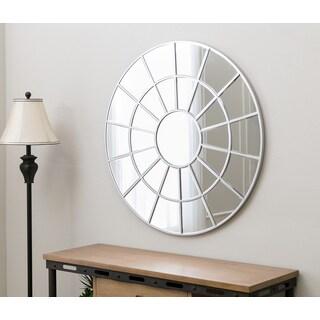 Abbyson Spectrum Round Wall Mirror