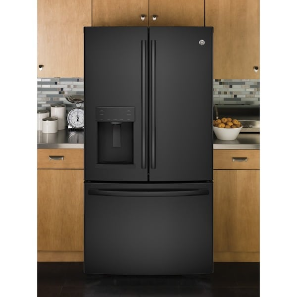 GE Series Energy Star 25.8 cubic foot French Door Refrigerator