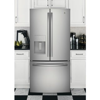 GE Series Energy Star 23.8 Cubic Foor French Door Refrigerator