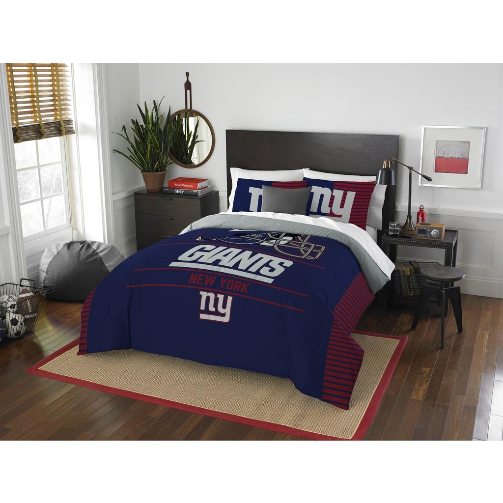 The Northwest Company Nfl New York Giants Draft Full Queen Comforter Set On Sale Overstock 13260883