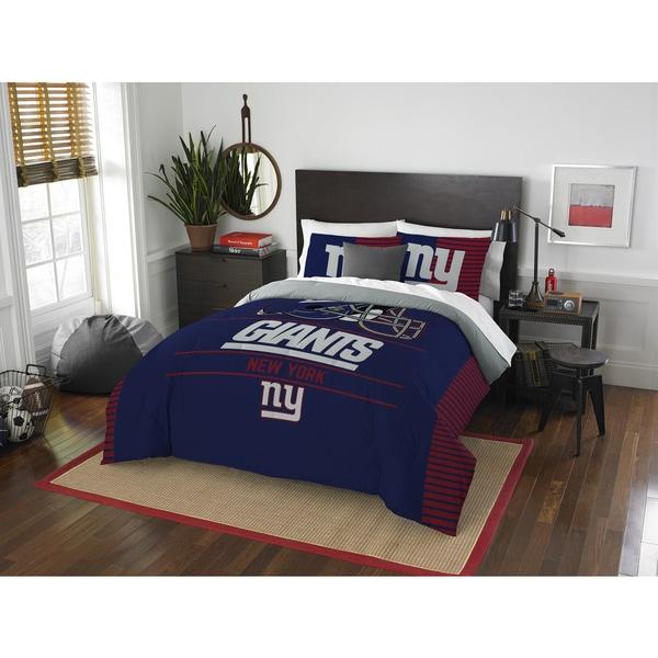 The Northwest Company NFL New York Giants Draft Full/ Queen Comforter Set