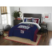 The Northwest Company NFL New York Giants Draft Full/ Queen Comforter Set