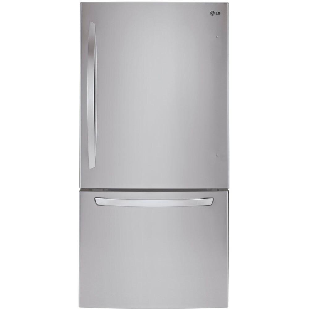 LG 24 cu.ft. Bottom Drawer Freezer 33-inch Refrigerator (...