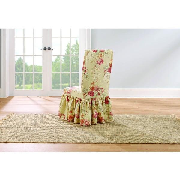Superb Shop Sure Fit Waverly Ballad Bouquet Dining Room Chair Inzonedesignstudio Interior Chair Design Inzonedesignstudiocom