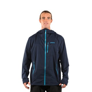 Patagonia Men's Navy Blue Stretch Rainshadow Jacket