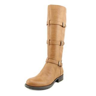Franco Sarto Women's 'Petite' Tan Faux Leather Boots