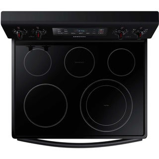 Samsung Stainless Steel Edge Design 30-inch Electric Range with 5.9 Cu.Ft. Oven