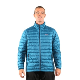 Patagonia Men's Deep Sea Blue Down Sweater Jacket