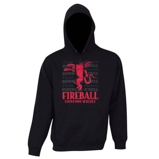 Men's Polyester Fireball Tastes Like Heaven Hoodie