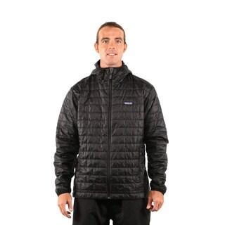Patagonia Men's Black Nano Puff Hoody Jacket
