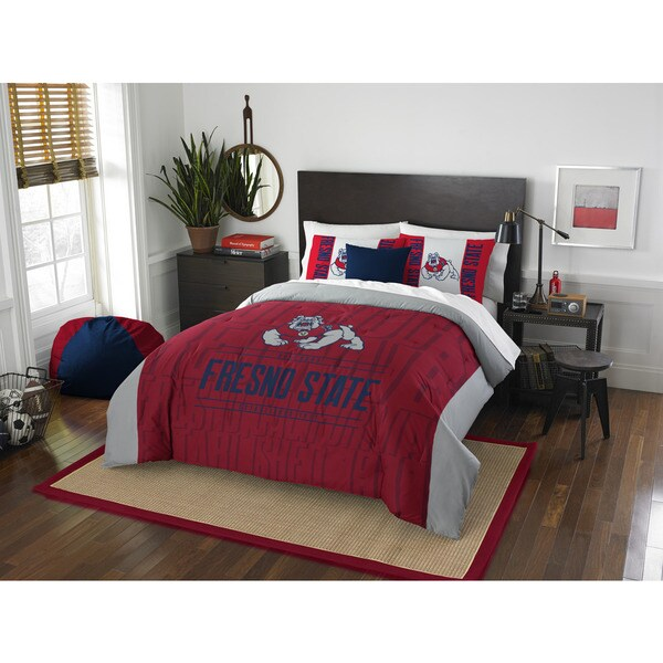 The Northwest Company COL 849 Frenso State Modern Take Full/Queen 3-piece Comforter Set