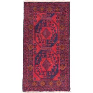 eCarpetGallery Bahor Red Wool Rug (2'8 x 5'1)