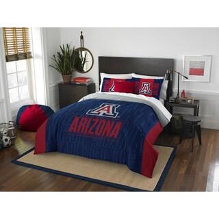 The Northwest Company University of Arizona Wildcats Multicolored Polyester Full/Queen 3-piece Comforter Set