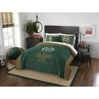 The Northwest Company Colorado State Modern Take Green Full/ Queen 3-piece Comforter Set
