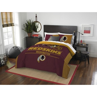 The Northwest Company NFL 849 Redskins Draft Full/Queen 3-piece Comforter Set