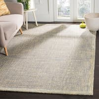 Safavieh Abstract Handmade Gold/ Grey Rug - 4' x 6'