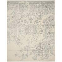 Safavieh Adirondack Vintage Distressed Ivory / Slate Grey Rug - 4' x 6'