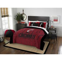 The Northwest Company COL Cincinnati Modern Take Red/Black Full/Queen 3-piece Comforter Set