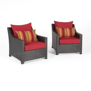 Deco Sunset Red Club Chairs by RST Brands