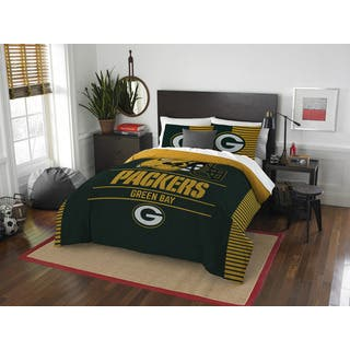 The Northwest Company NFL Green Bay Packers Draft Full/Queen 3-piece Comforter Set|https://ak1.ostkcdn.com/images/products/13261191/P19973469.jpg?impolicy=medium