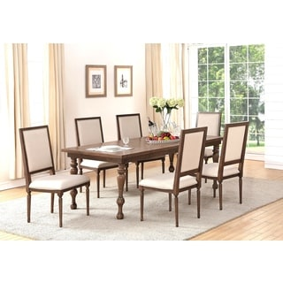 ABBYSON LIVING Cypress 7 Piece Dining Set