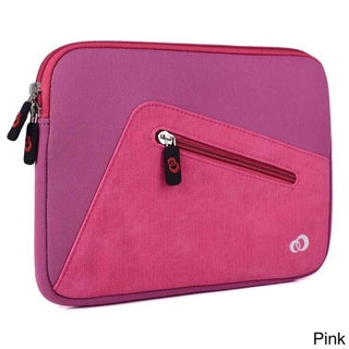 KroO 9-Inch Neoprene Tablet Sleeve with Front Zipper Pocket for Tablet and E-readers