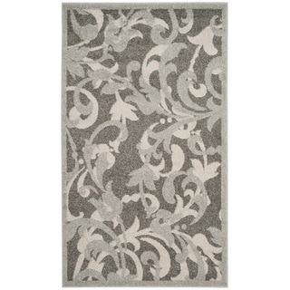 Safavieh Amherst Orpha Modern Indoor/ Outdoor Rug (3 x 5 - Grey/Light Grey)