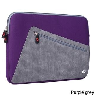 KroO 13.3-Inch Blue Neoprene Hybird Tablet and Laptop Sleeve