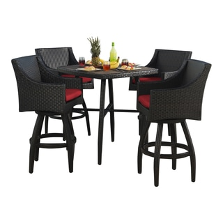 Deco Sunset Red 5-Piece Barstool Set by RST Brands