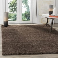 Safavieh Arizona Shag Southwestern Brown Shag Rug - 3' x 5'
