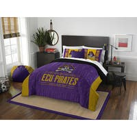 The Northwest Company COL 849 East Carolina Modern Take Polyester Full/Queen 3-piece Comforter Set