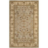 Safavieh Antiquity Traditional Handmade Light Grey/ Beige Wool Rug - 3' x 5'