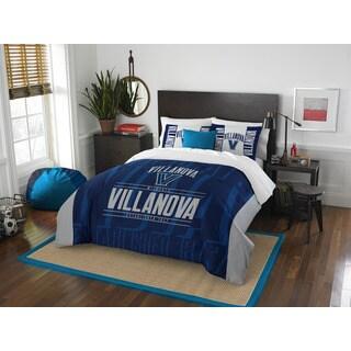 The Northwest Company COL 849 Villanova Blue/Grey Polyester Modern Take Full/Queen 3-piece Comforter Set
