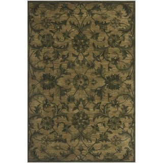 Safavieh Antiquity Traditional Handmade Olive/ Green Wool Rug (3' x 5')