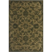 Safavieh Antiquity Traditional Handmade Olive/ Green Wool Rug (3' x 5')
