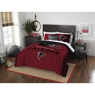 The Northwest Company NFL Atlanta Falcons Draft Full/Queen 3-piece Comforter Set
