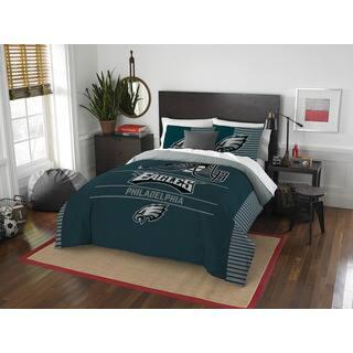 The Northwest Company NFL Philadelphia Eagles Draft Full/Queen 3-piece Comforter Set