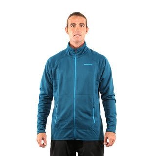 Patagonia Men's Deep Sea Blue R1 Full Zip Jacket