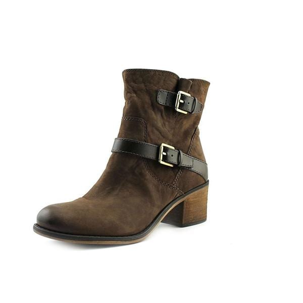 24459b112038 Shop Franco Sarto Women s Larisa 2 Brown Leather Boots - Free ...
