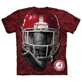 Mountain Bama Alabama Crimson Tide Warrior Mascot Red Cotton T-shirt