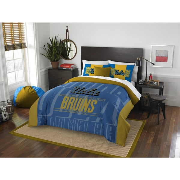 The Northwest Co COL 849 UCLA Modern Take Full/Queen 3-piece Comforter Set