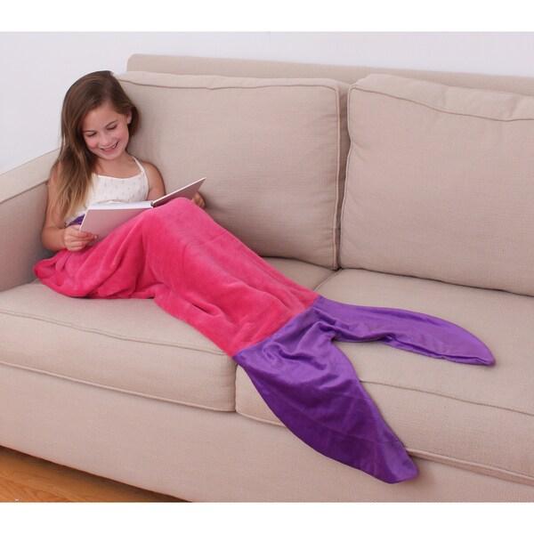 Allyson Mermaid Tail-shaped Throw