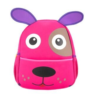 Little Kids Puppy Cartoon Pink EVA Backpack