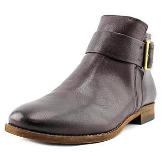 Franco Sarto Women's Holmes Brown Leather Boots