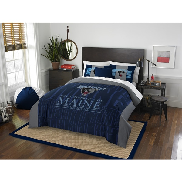 The Northwest Co COL 849 Maine Modern Take Full/Queen 3-piece Comforter Set