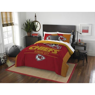 The Northwest Company NFL Kansas City Chiefs Draft Full Queen 3 Piece Comforter Set