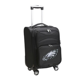 Denco Sports Philadelphia Eagles 20-inch Carry-on 8-wheel Spinner Suitcase